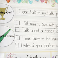Success Criteria Accountable Talk