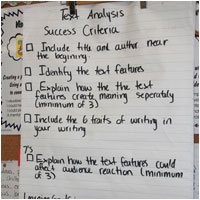 Hanger Text Analysis Success Criteria
